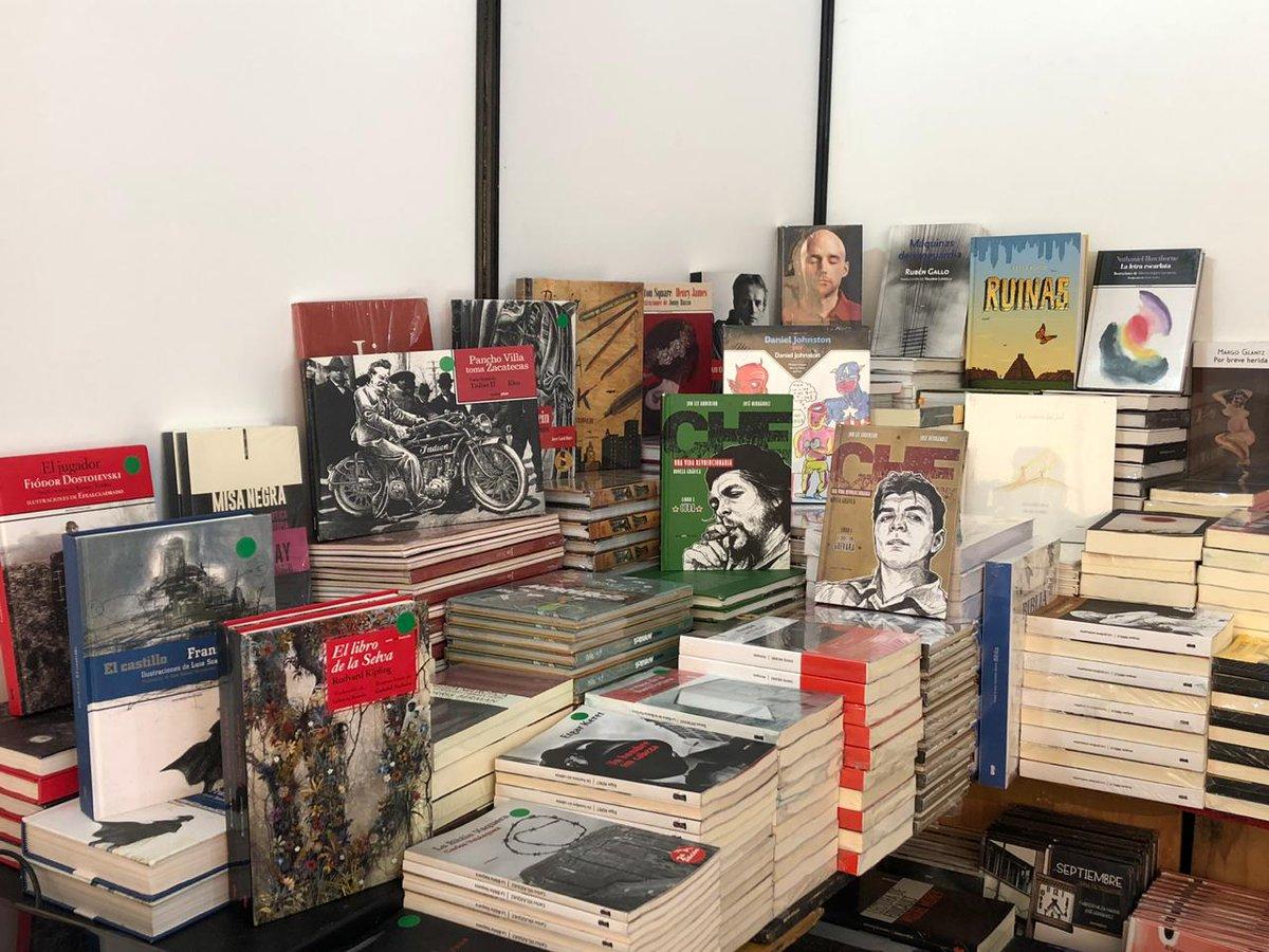 ¡Estamos en el Gran Remate de Libros del Monumento a la Revolución! Tenemos descuentos del 40% al 50% en libros de Sexto Piso y en las editoriales que distribuimos. ¡Pasen a visitarnos al stand 12 de la Carpa A! @rematedelibros #SaltaConNosotros