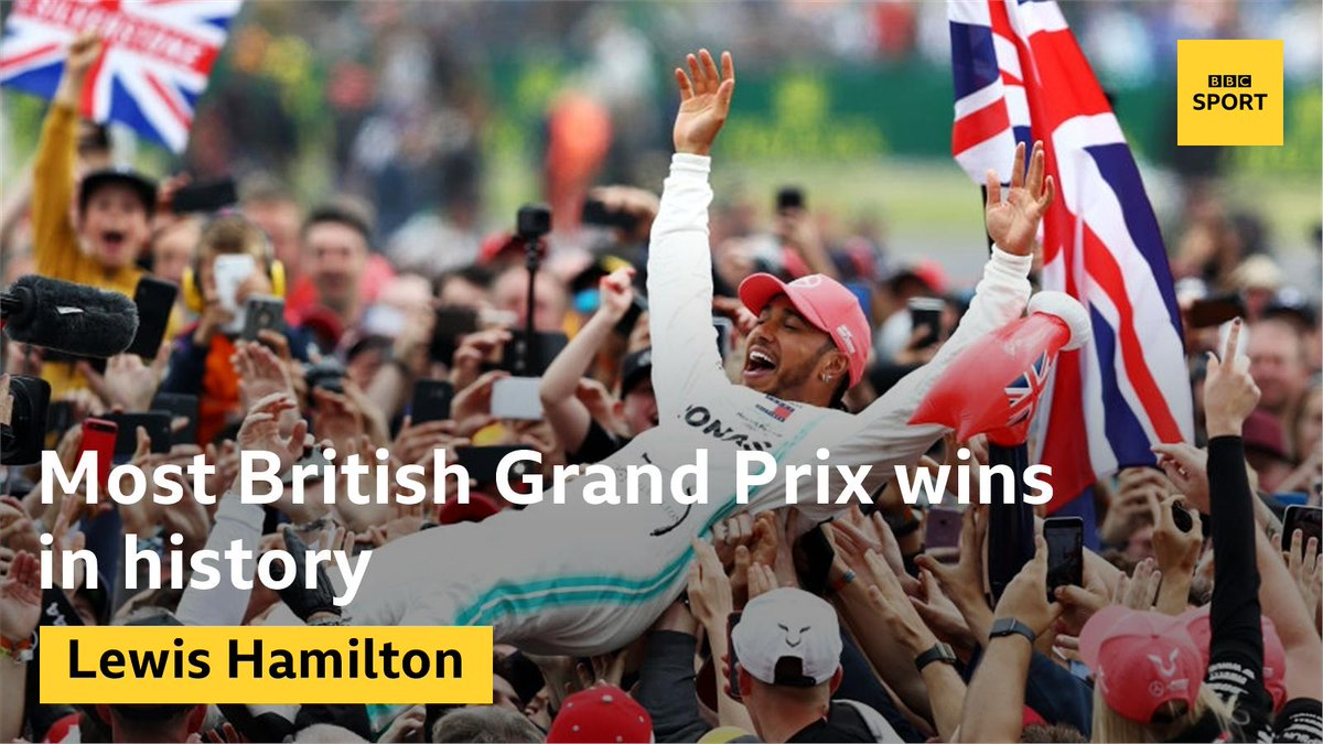 Lewis Hamilton, six-time winner of the #BritishGP 👏👏👏http://bbc.in/30r8T9w