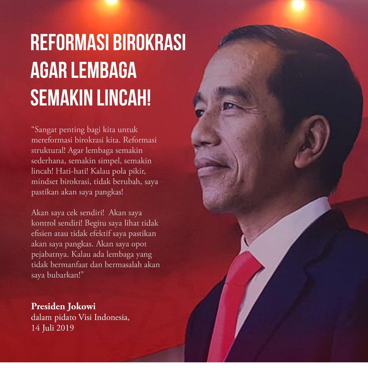#VisiIndonesia 5 tahun ke depan...