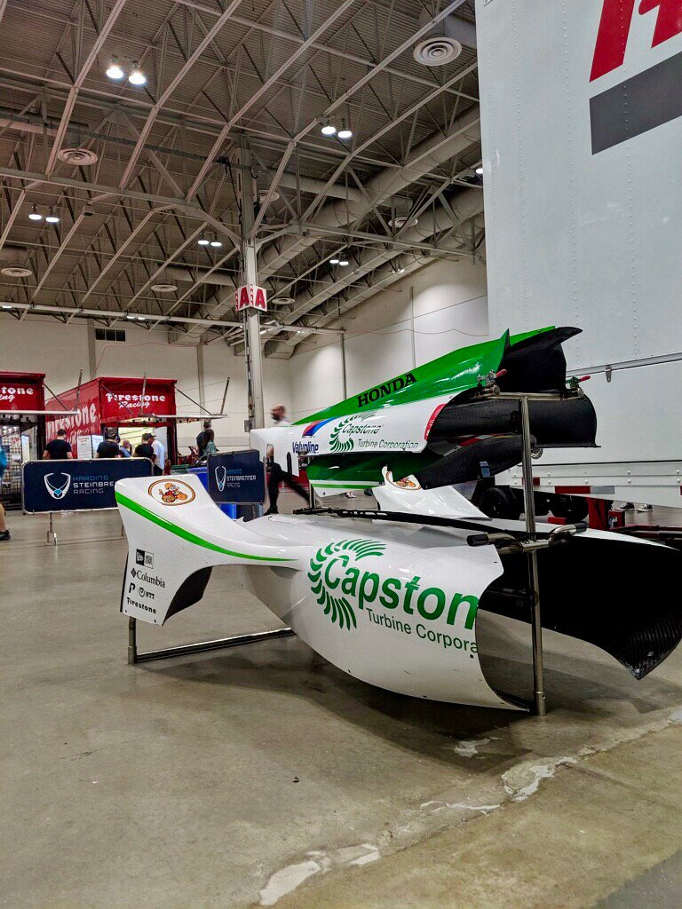 Its Race Day! 🏁 Were spending the day at @Hondaindy with @CapstoneTurbine distributor, @VergentPower & customers. Excited to cheer for @ColtonHerta in the #CH88 #GreenMachine! 👏🏼👏🏼 ⏰ 3:00PM ET / 12:00PM PT #OneToWatch // #IndyCar // #IndyTO