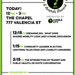 Image for the Tweet beginning: TODAY! Free Livability Summit at