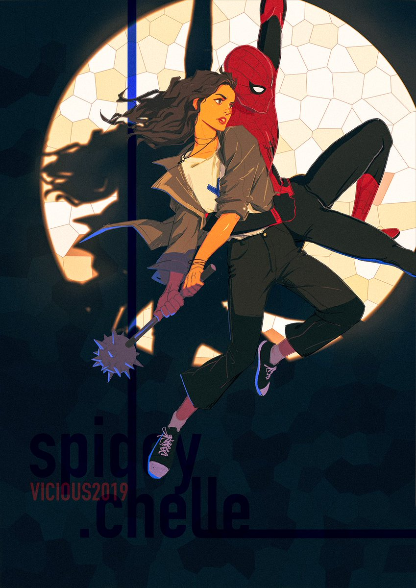 spideychelle hashtag on Twitter