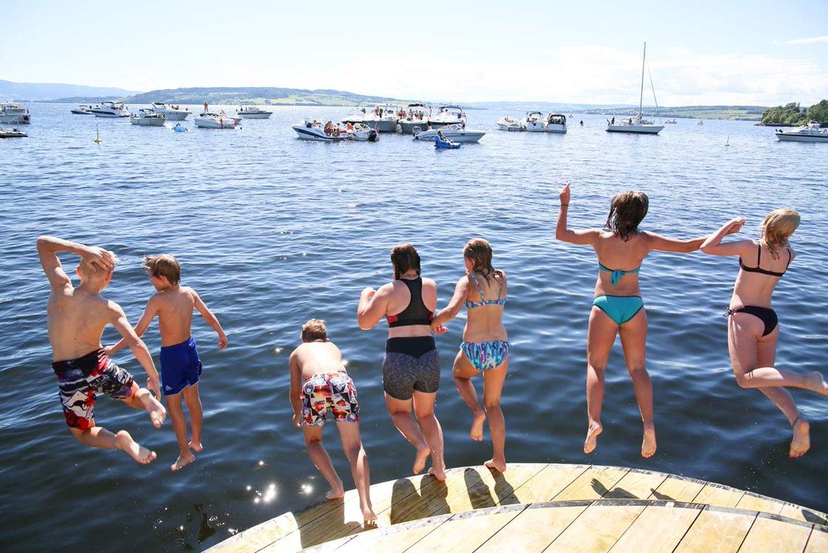 Summer by Mjøsa Lake 😍 Photo @Hamarregionen #Norway #travel #holiday