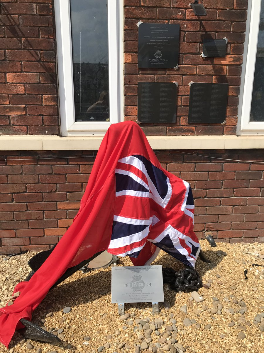 Remembering the sacrifice of those merchant seafarers @ #DDay75thAnniversary at the #Newport Mission to seafarers today #WeWillRememberThem #SeaSunday Thanks to Newport Merchant Navy Association who celebrate 20 years this year<br>http://pic.twitter.com/6gMkNkCS97