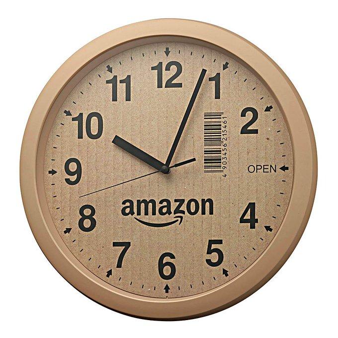 efc65e5c531bc3 プライムデー 記念発売 Amazon段ボール風時計をついポチってしまった人 ...