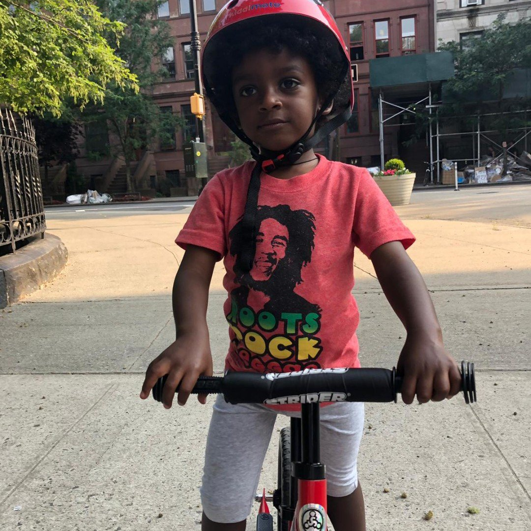 RT @MarcusCooks: Zion taking his hot wheels for a spin. #sunday #harlem https://t.co/mqxZ6cKlfm