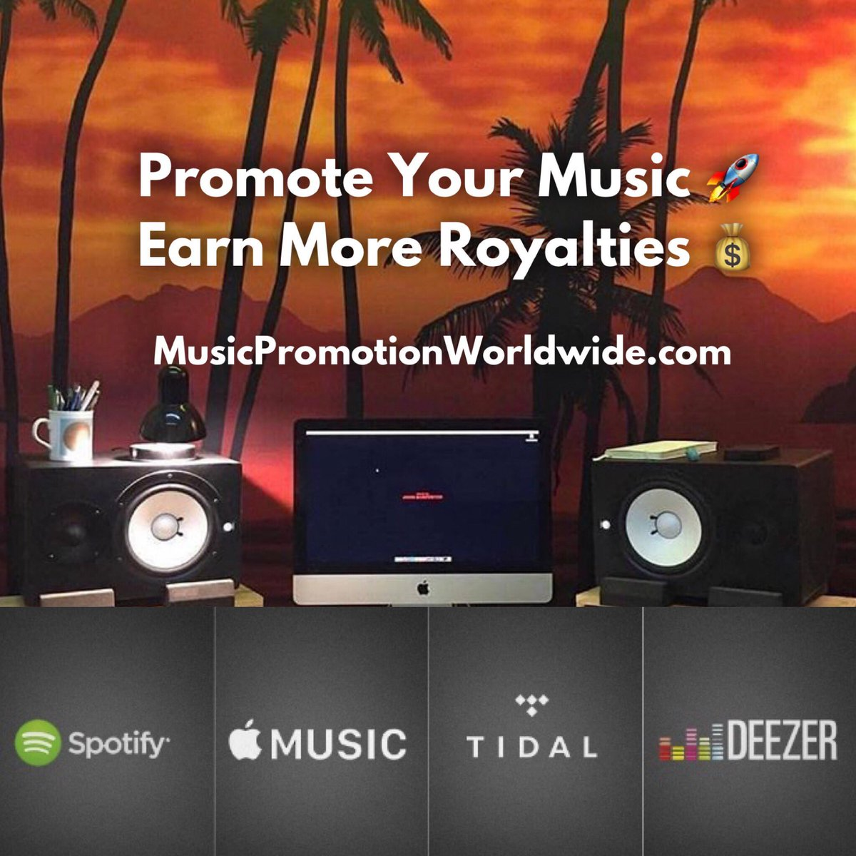 ⭐Exclusive music promotion services for Spotify, Tidal