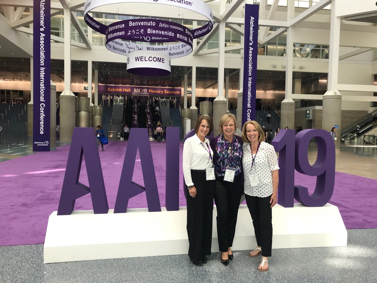 Until there is a world without Alzheimers.  Advocacy never stops!   #AAIC19 ⁦@alzassociation⁩ ⁦@ALZIMPACT⁩<br>http://pic.twitter.com/P6OaMhNMH0 – à Los Angeles Convention Center
