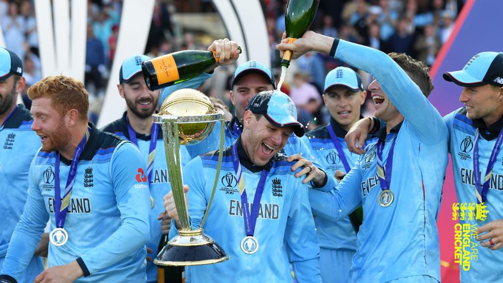 An incredible day for our sport and our team Thank you for your support This is for all of us #ExpressYourself #CWC19 #WeAreEngland