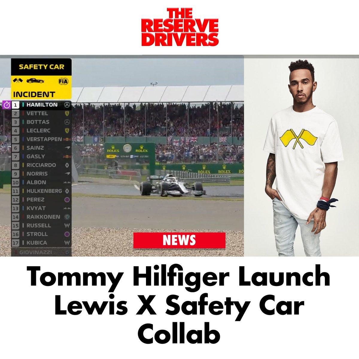 "#BREAKING ""I'm sending a tee to @antogiovinazzi99 to say thanks,"" Lewis said. #LewisXSafetyCar #BritishGP🇬🇧"