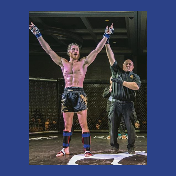 """Fighter Shout Out Of The Day is James """"Thor The Thunder Bear"""" Carroll Follow him on Instagram - https://www.instagram.com/thorthethunderbear/… - Hope to see you back in the cage soon and getting another W!    #365FighterShoutouts #TopRatedMMA #BeardedBiz #MMA #WMMA #Fighter #Warrior #Gladiator #Fight"""