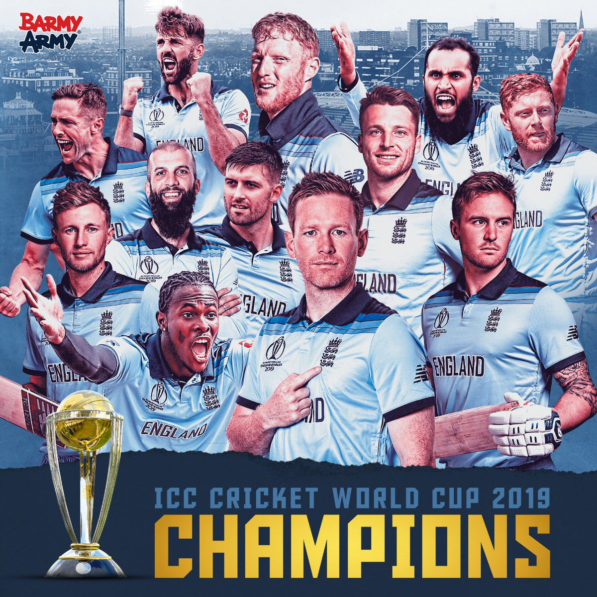WE ARE WORLD CHAMPIONS!!! 🏴🏴🏴🦁🦁🦁🏆🏆🏆#CWC19