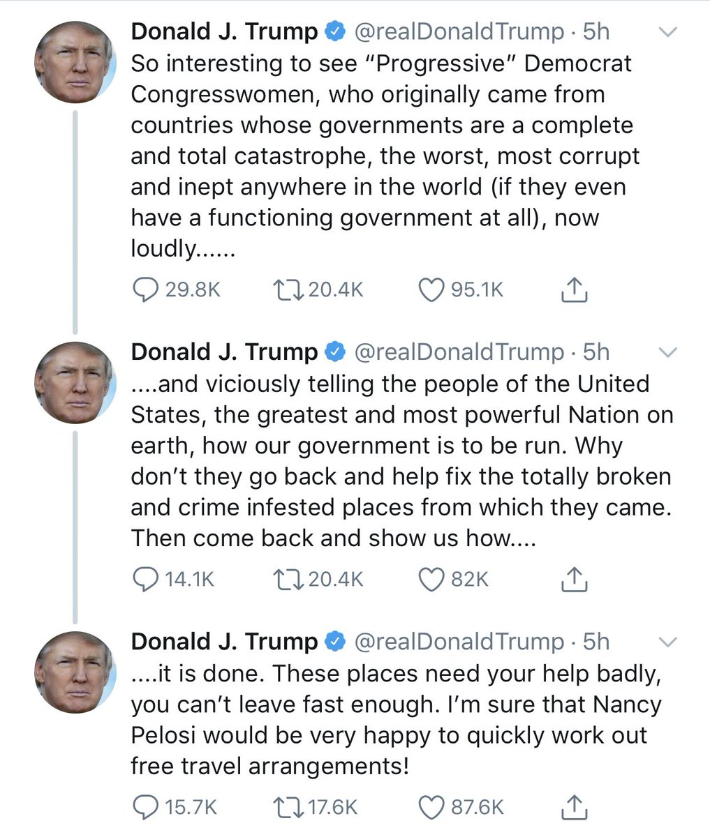 Let's call the president's racist attack exactly what it is: un-American.