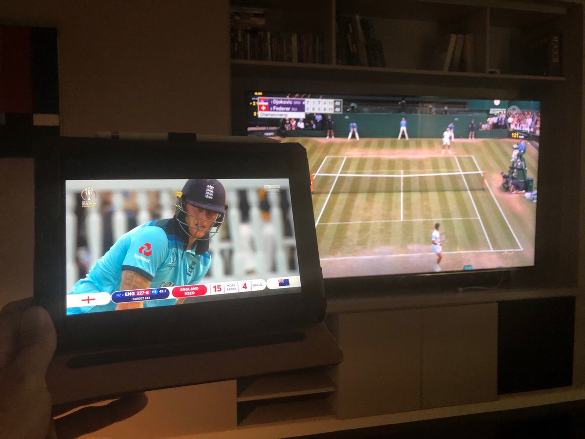 I don't watch much sport. Is it always this stressful?