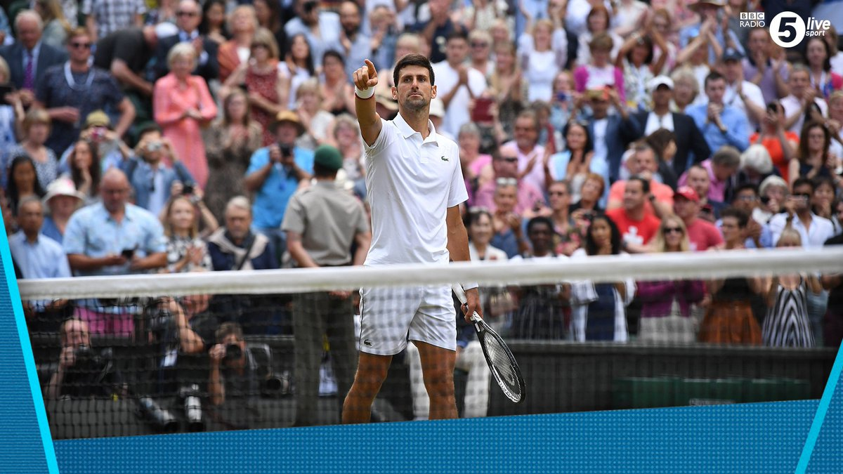 Bbc 5 Live Sport On Twitter What A Match Novak Djokovic Beats Roger Federer 7 6 7 5 1 6 7 6 7 4 4 6 13 12 7 3 One For The Ages Reaction On Sports Extra Https T Co Pc0mgczgdq Bbctennis Wimbledon Https T Co Epwjuoedrl