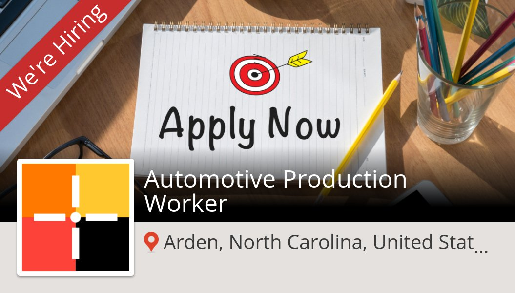 #Spherion is looking for an Automotive #Production #Worker in #Arden, apply now! #job https://t.co/sdFWgvIl70 https://t.co/9JPsUjpMvC