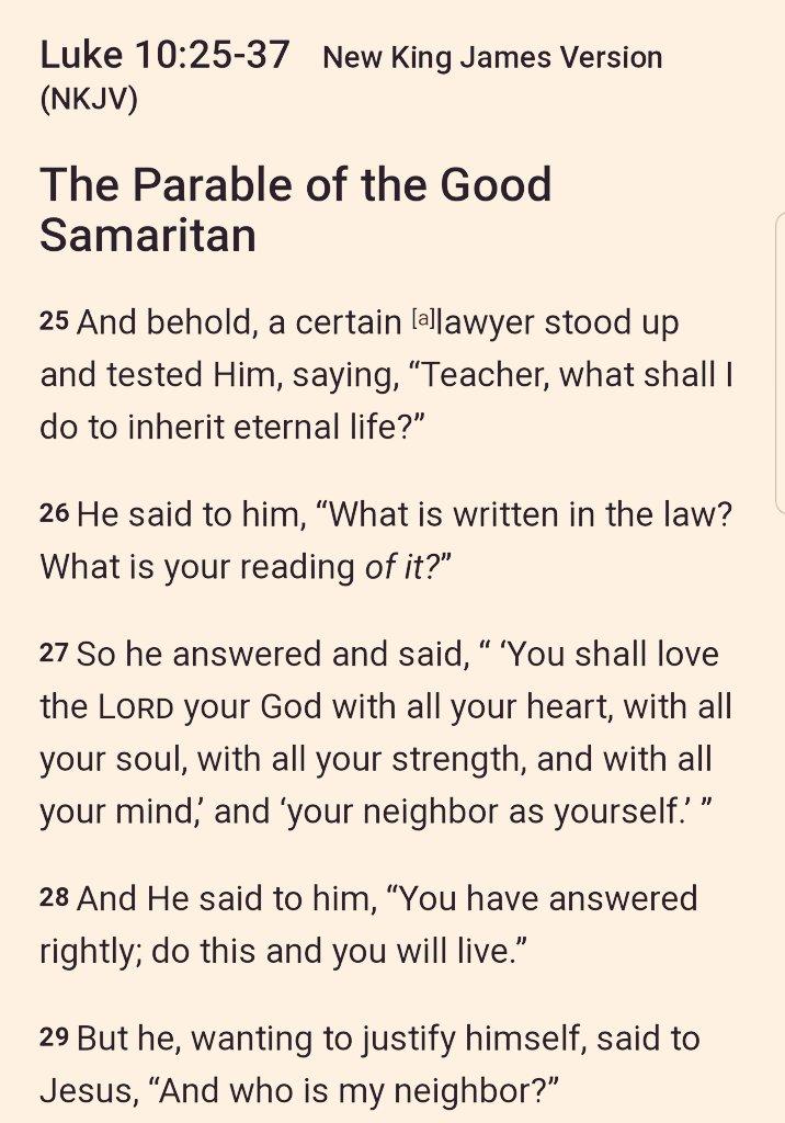 Great reminder this morning at Sunday mass. #TheGoodSamaritan #AlwaysBeKind