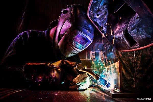 #welder #itsasmallweldafterall #portraitphotography #industrial #photographyislife @MillerWelders https://t.co/yuNr2bejs5