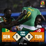 Image for the Tweet beginning: Senegal book their place in
