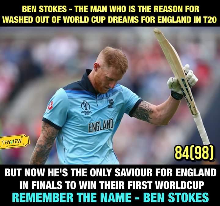 Like Jadeja ...this man Ben stokes also remembered in cricket history..... <br>http://pic.twitter.com/LjaPkKBIhE