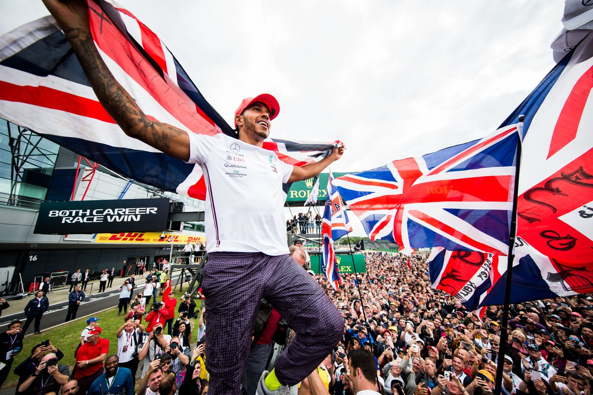 "🗣️""I will remember this day. I'm so incredibly proud.  ""This is the greatest single moment any athlete in the world can have.""  Lewis Hamilton riding high after record #BritishGP victory  https://www.skysports.com/f1/news/12433/11762784/lewis-hamilton-elated-after-making-british-gp-history-with-sixth-win …  #SkyF1"