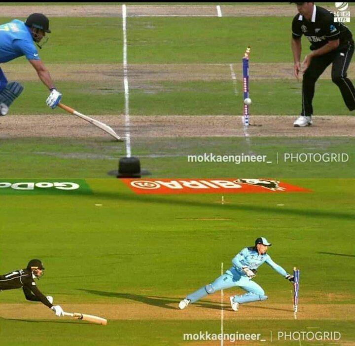 Thats Called KARMA #NZvsENG #TeamIndia #CWC19Final<br>http://pic.twitter.com/ebPj4UMoXf