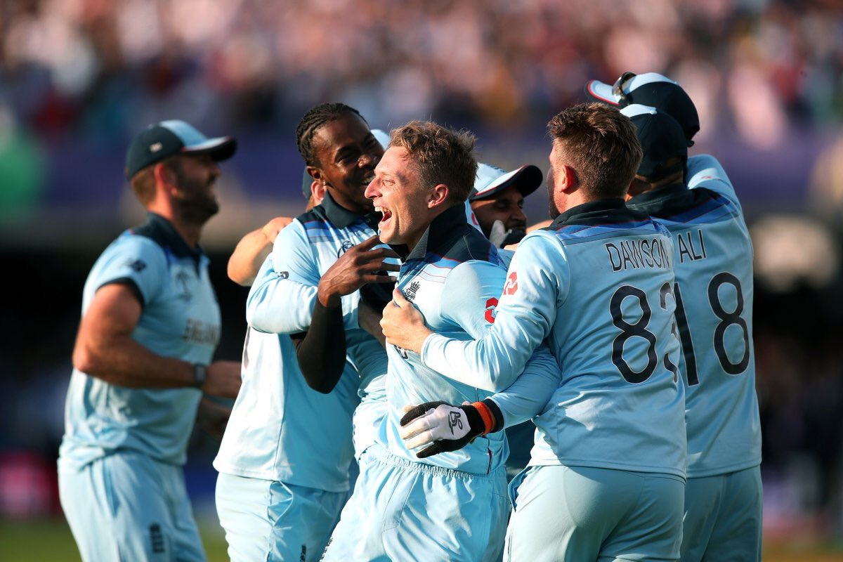 A huge congratulations to the @ECB_cricket England team who are now Champions of the World! Hopefully they inspire a new generation of cricketers.