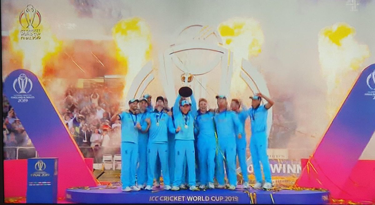 Well done England Cricket Team!! That was unbelievable Jeff! #ICCWorldCup2019 <br>http://pic.twitter.com/smyDOuoCbq