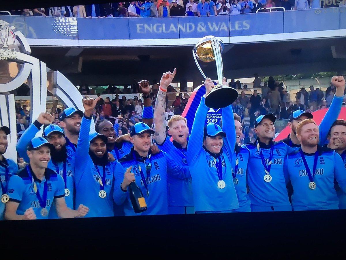 Well played England! #ICCWC2019 #ICCWorldCup2019