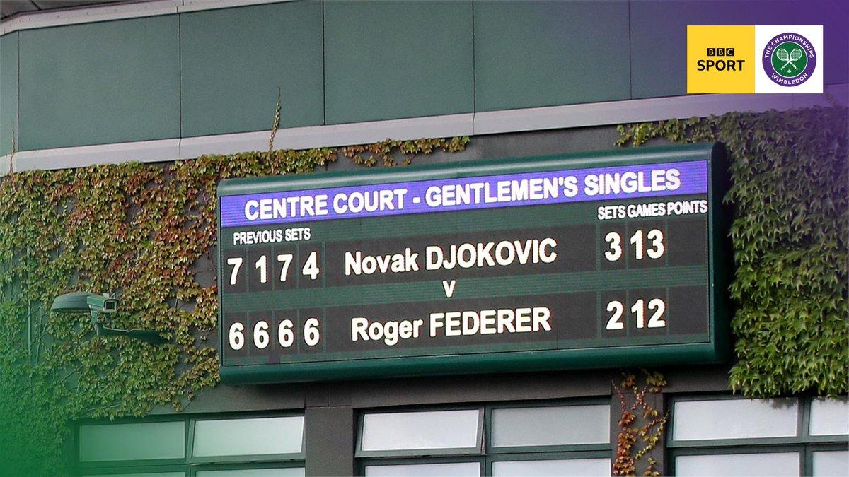 An epic day.#Wimbledon #bbctennis