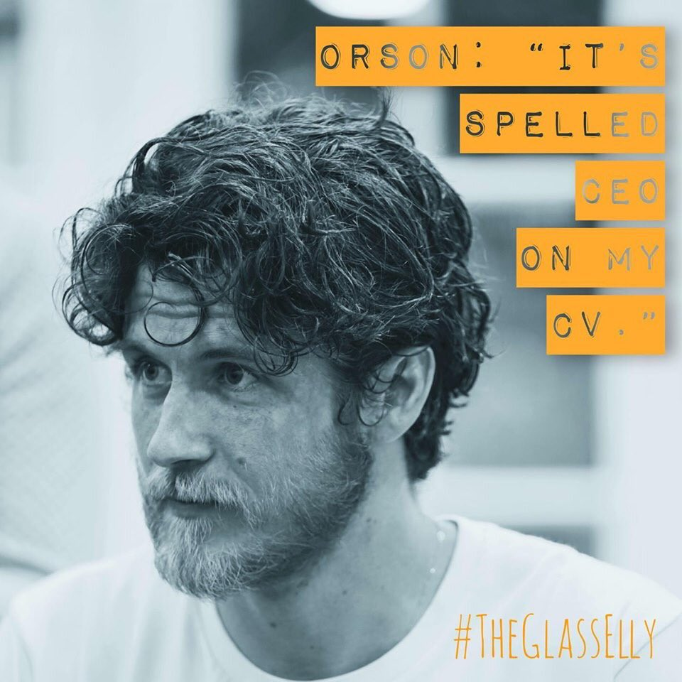 INTRODUCING 'ORSON' played by Taylor Downs. He is an experienced actor, software developer, philosopher and unstoppable force of nature! • Tickets available now for the premiere production of Anjali Bhat's new play #glasselly London preview 28th of July @goodenoughc  #edfringe