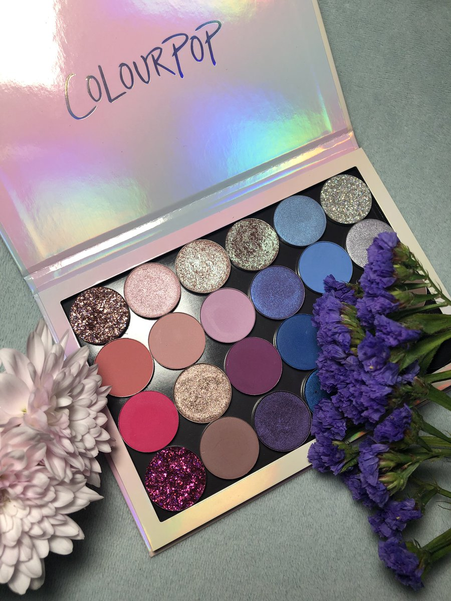 Opal Inspired Color Story Large Holographic Palette Full Of
