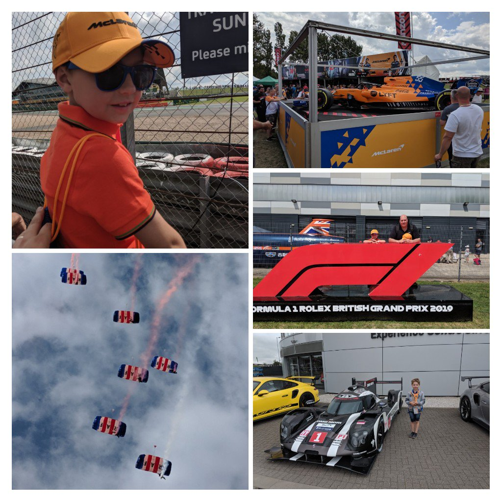 Thanks @Tickets4Troops an amazing weekend for me and my son, truly unbelievable #BritishGP