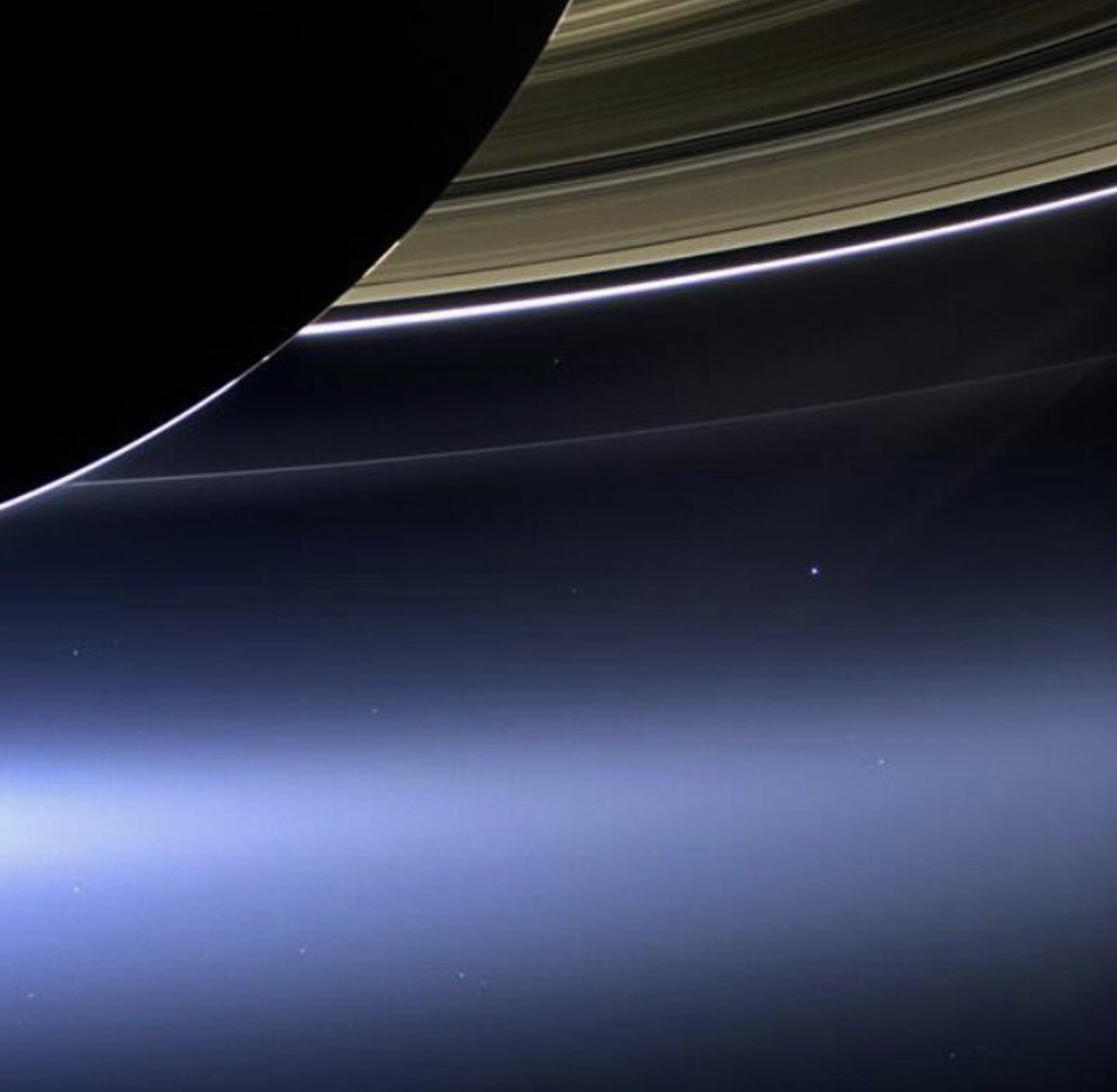 earth from saturn - HD1200×1173