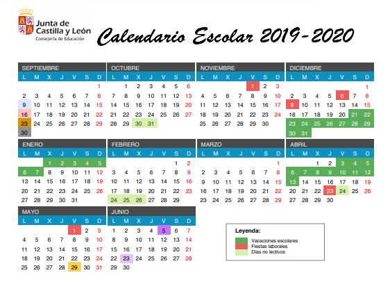 Calendario Escolar Valladolid.Educacion Jcyl On Twitter El Proximo Curso Escolar 2019 20