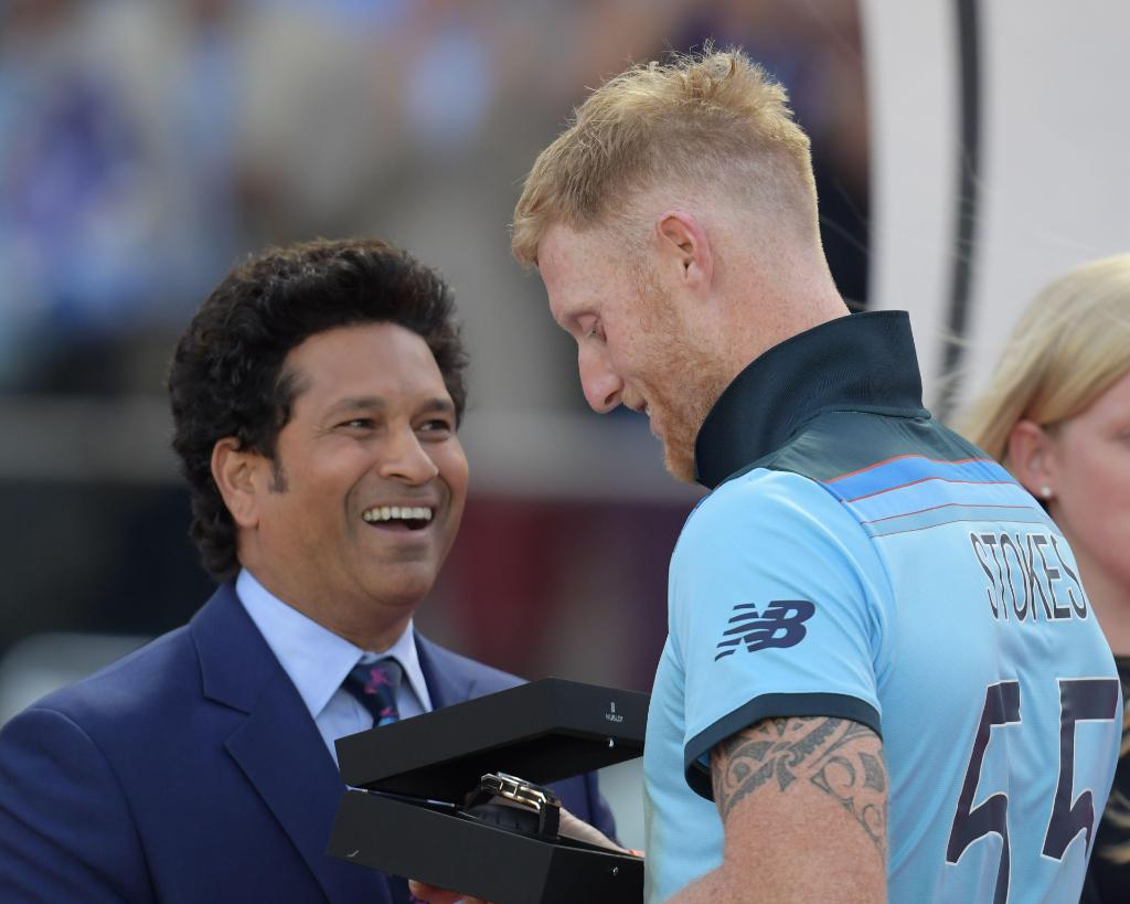 The greatest cricketer of all time - and Sachin Tendulkar 😉 #CWC19Final