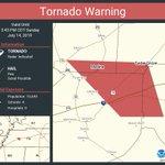 Image for the Tweet beginning: Tornado Warning continues for Medina