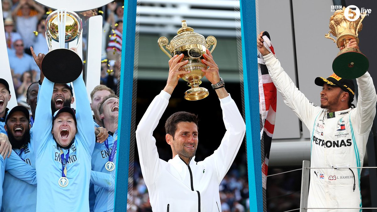 Three trophies; three sports; three incredible victories.Sporting Sunday's don't come much better than this! 😍#MySportingSunday
