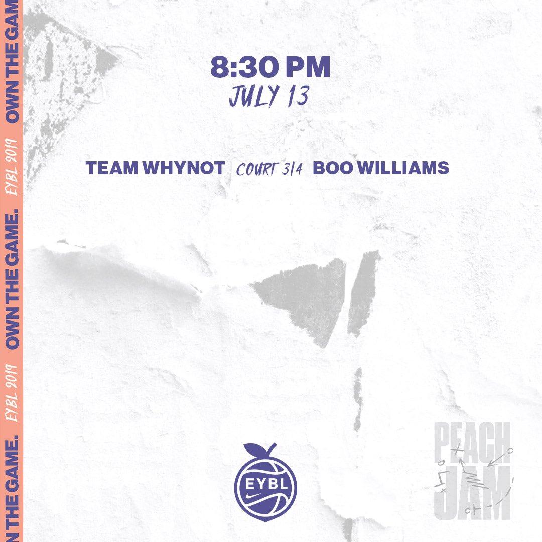 🏀 Saturday, July 13 📍 Augusta, GA ⏰ 8:30PM