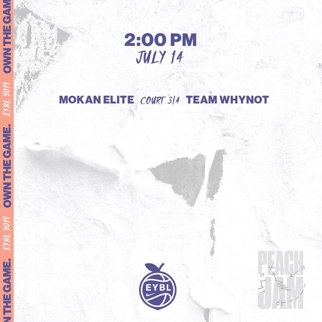 🏀 Sunday, July 14 📍 Augusta, GA ⏰ 2:00PM