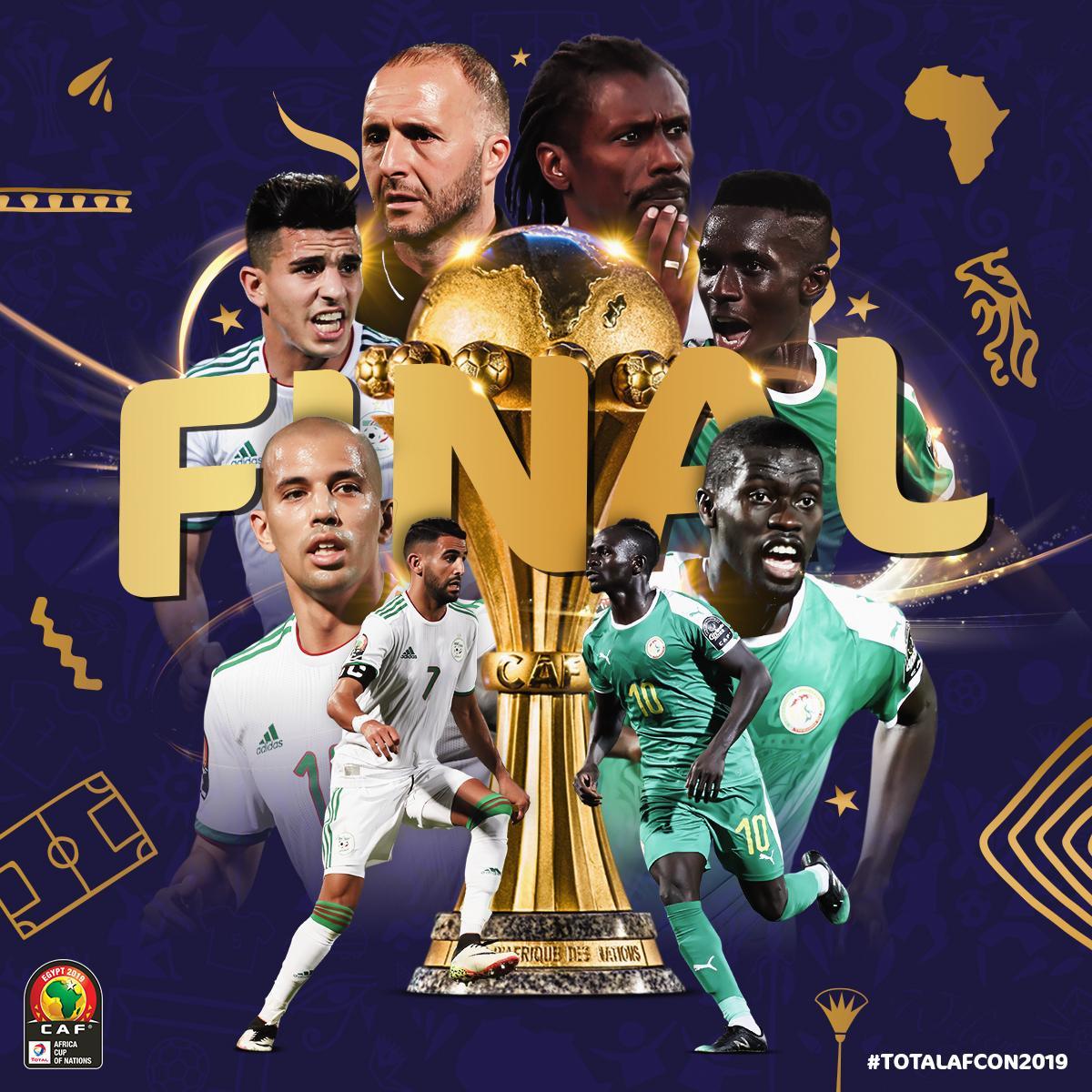 الجزائر والسنغال بث مباشر
