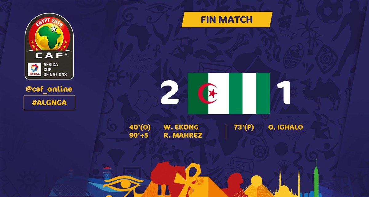 Algérie-Nigéria