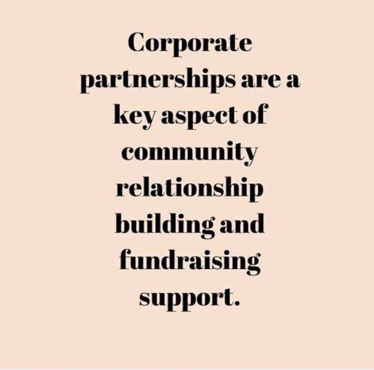 Nonprofits should consider enhancing their corporate partnerships when thinking of the long-term health of the organization. ✨ . #grants #nonprofit #giving #donors #audience #growth #ngo #dlgnonprofit #giving #charity #philanthropy #corporatepartnerships #dlgnonprofitconsulting