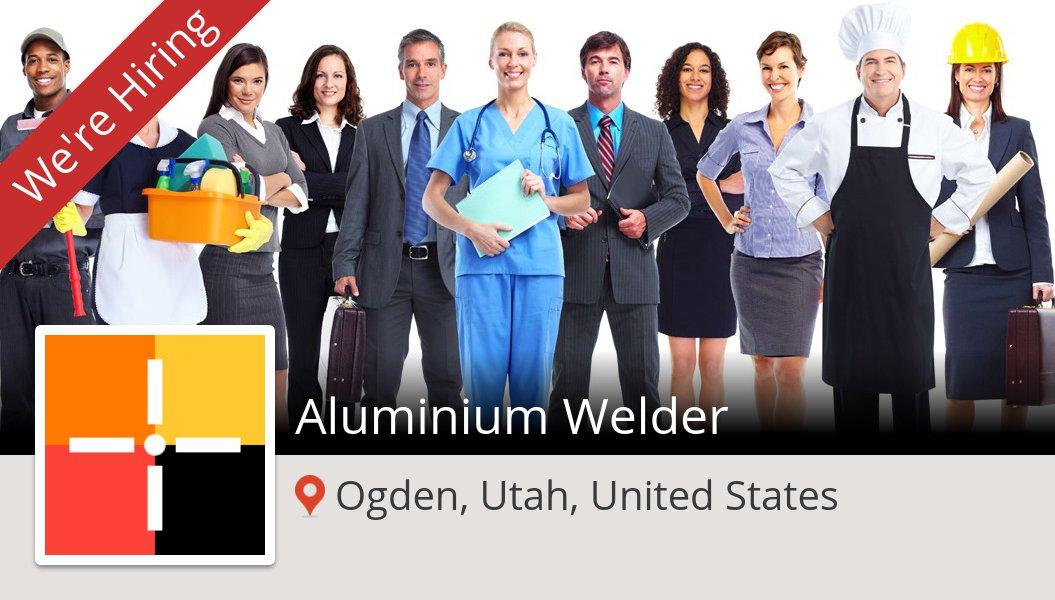 Check out this #job: Aluminium #Welder at #Spherion in #Ogden https://t.co/esXsFVx2Kv https://t.co/lKEAwKwsM0