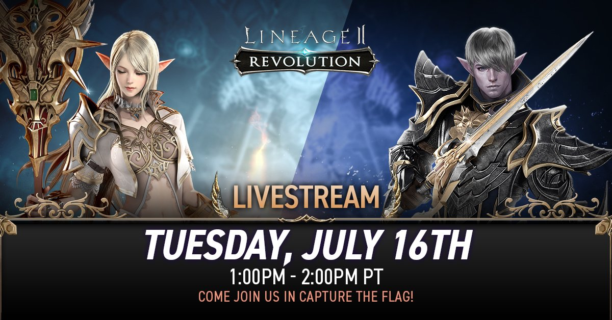 Lineage 2: Revolution (@Lineage2_Rev) | Twitter