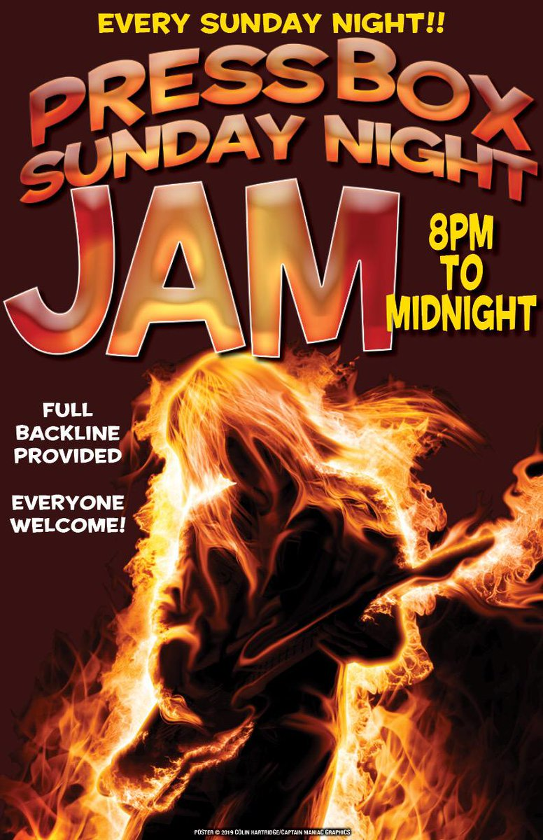 #SundayFunday at The PressBox! It's another Sunday Night Jam with cold beers and good tunes #vancity #jamnight #beers<br>http://pic.twitter.com/9pS8zzhGYo