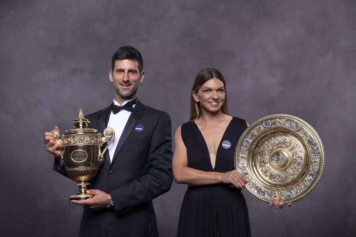 Your 2019 Champions 🏆#Wimbledon