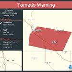 Image for the Tweet beginning: Tornado Warning including Fergus Falls