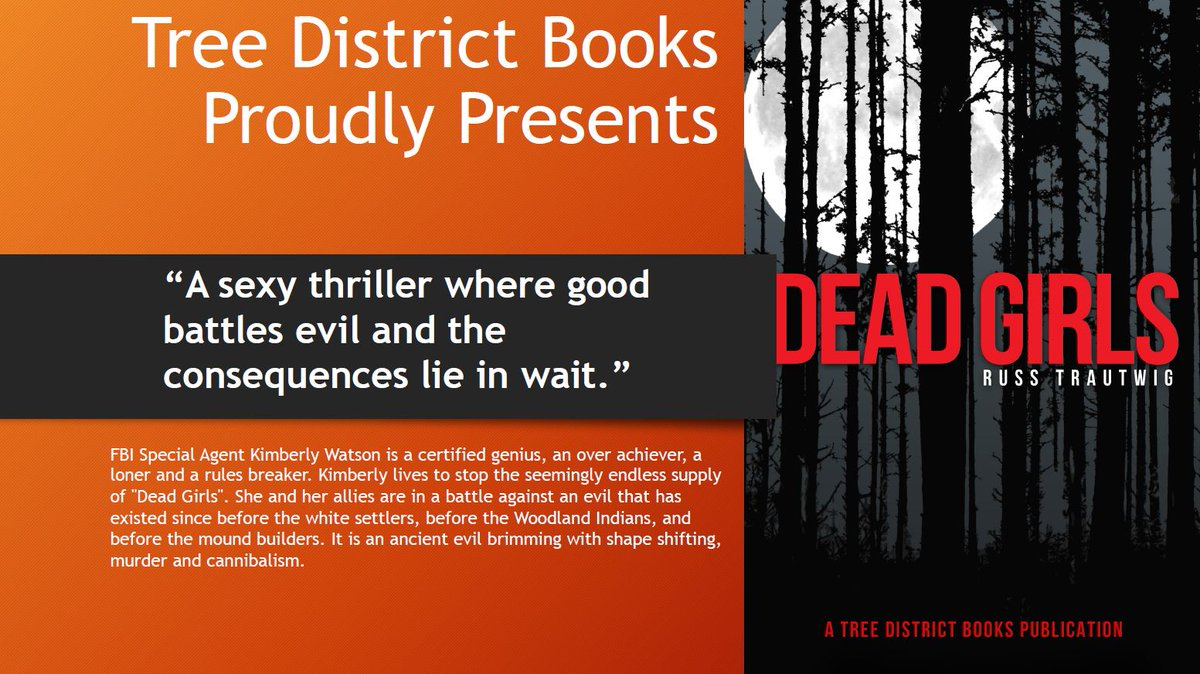 Need a beach read? Dead Girls is available now for free with Kindle Unlimited. Kindle version on Amazon.#writingcommmunity #writerslife #IndieApril #readers #bibliophile  #reviews DM for questions or comments please.. (But don't read it in the woods!)<br>http://pic.twitter.com/FRXA52IEvN