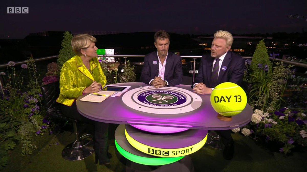 Boris Becker says Roger Federer will feel the loss against Novak Djokovic.#Wimbledon#bbctennis #FedererDjokovic